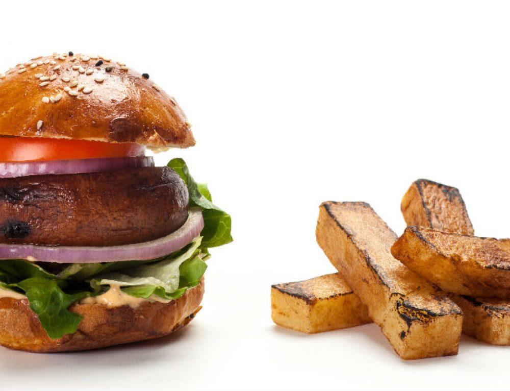המבורגר מגה פורטבלה